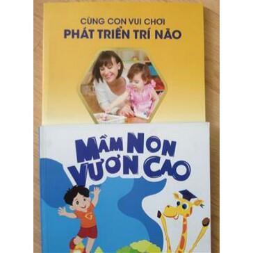 Combo 2 Cẩm nang (Mầm non vươn cao -chăm sóc và chơi cùng con trẻ  Combo 2 Cam nang (Mam non vuon cao -cham soc va choi cung con tre