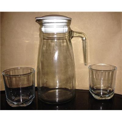 Set bình nước va 2 ly thủy tinh cao cấp Indonesia