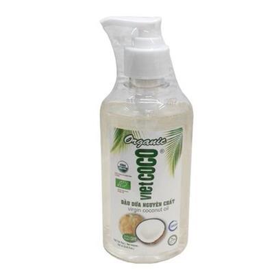 Dầu Dừa 100% Nguyên Chất Organic Vietcoco 250ml