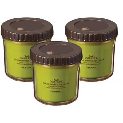 Bộ 3 Hộp Nhựa Giữ Nhiệt Ecolife Lock&Lock HPL745 360ml