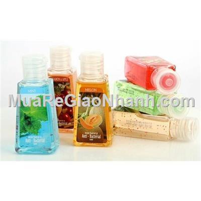 Set 6 chai gel rửa tay khô LAMCOSMÉ hương thảo mộc /hương trái