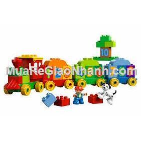 Xếp hình khối lego tàu hỏa 75pcs enfa