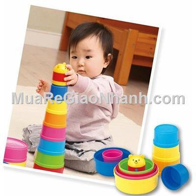 Bộ đồ chơi xếp chồng cốc thông minh 11pcs