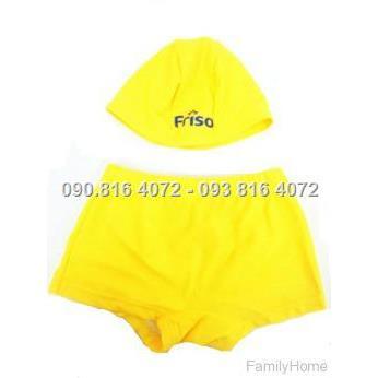 Set quần và mũ bơi cho bé <30kg