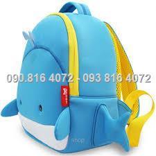 Balo cá voi xanh cho bé