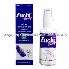 Combo 2 chai Khử mùi hôi chân và giày Zuchi Family dạng xịt ( 50ml )
