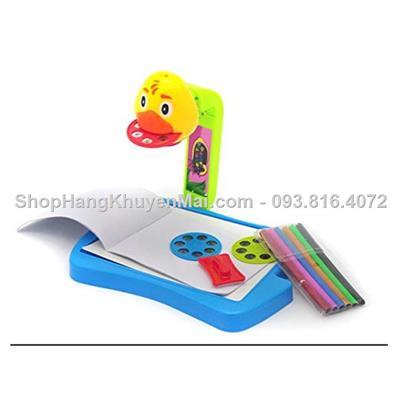Bộ đồ chơi bàn vẽ hình máy chiếu đèn học tập tô hình thông minh cho bé