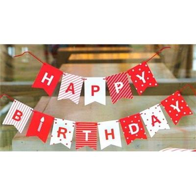 Banner giăng Happy Birthday