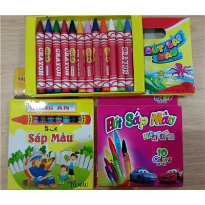 30 màu sáp tô cho bé tha hồ sáng tạo làm họa sĩ nhí