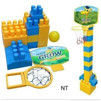 Bộ lego lắp ráp cột bóng rổ