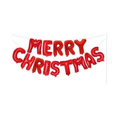 BỘ BONG BÓNG CHỮ MERRY CHRISTMAS