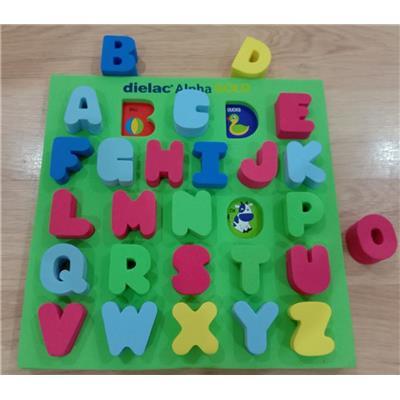 Bộ chữ cái lắp ô học từ ngữ sinh động