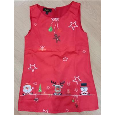 Váy Noel dáng chữ A xinh cho bé dưới 25kg