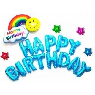 Set bóng Rainbow trang trí sinh nhật