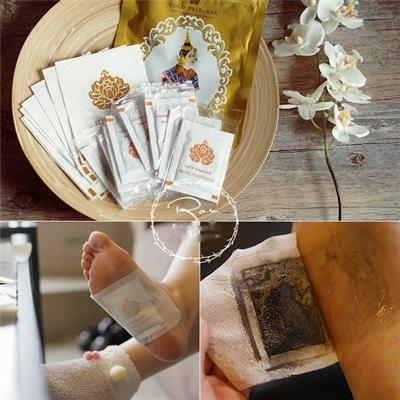 10 Miếng dán thải độc chân Gold Princess Royal có xuất xứ từ Thái Lan