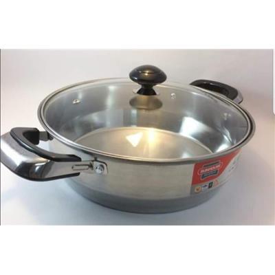 NỒI LẨU Inox 1 đáy SUNHOUSE SHL24 dùng được với bếp từ