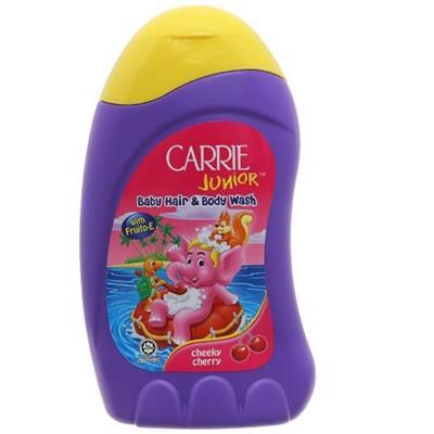 Tắm & gội toàn thân em bé Carrie Junior hương Cherry