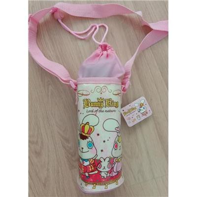 Túi đựng giữ nhiệt bình nước (500ml) dây miệng rút có dây đeo xinh xắn