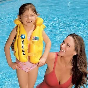 Áo phao tập bơi Yesure Intex Step 2 dành cho bé 3-6 tuổi
