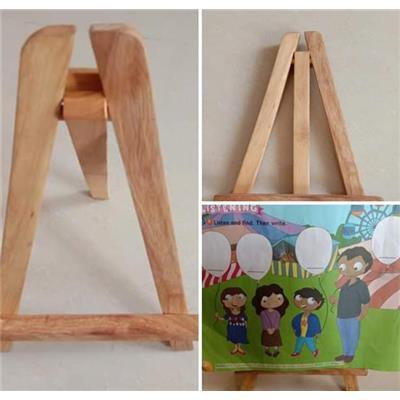 Giá vẽ gỗ cho bé làm hoạ sĩ nhí