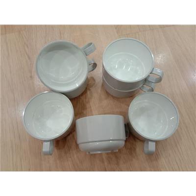 Combo 7 cốc micca chống vỡ, chống bám dính cao cấp VN ảirlines chỉ 65k