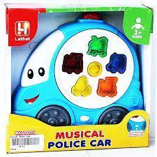 Đàn âm nhạc ô tô Police Car Musical