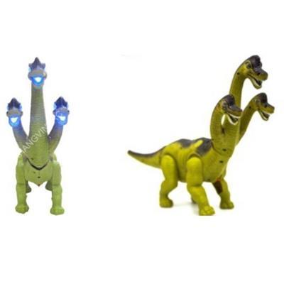 khủng long cổ dài 3 đầu chạy Pin, đẻ trứng (4 trứng)
