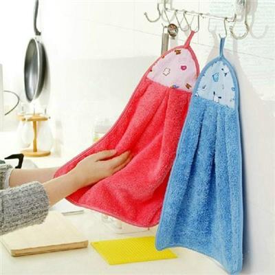 Combo 2 khăn lông lau nhà bếp tiện lợi