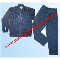 Quần áo bảo hộ lao động vải Jean