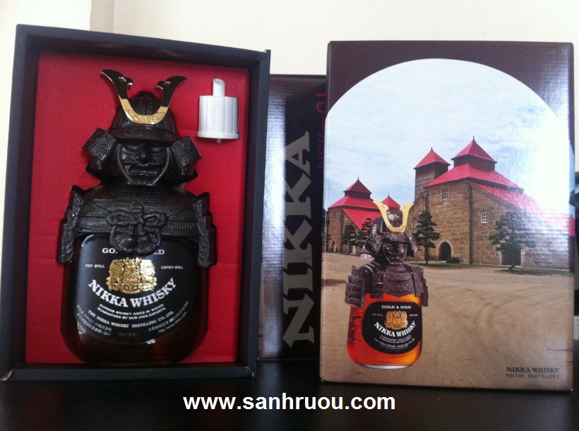 Ruou nikka samurai