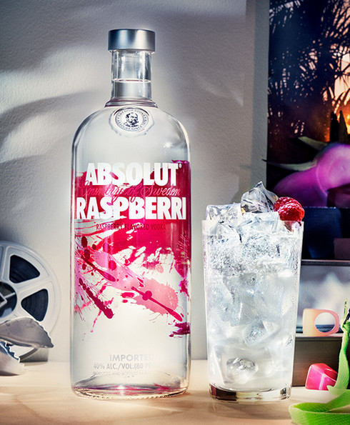vodka absolut raspberri new