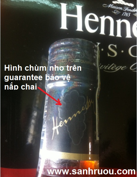 ruou henness VSOP that gia